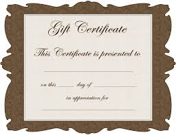 superb gift certificate template 11 in card picture images superb gift certificate