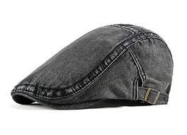 FENGFA <b>Men</b> Flat Cap Beret Adjustable <b>Summer Breathable mesh</b> ...