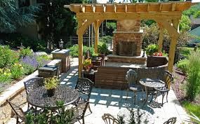 outdoor fireplace paver patio: lehigh valley outdoor fireplace patio landscape