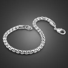 Special Offers <b>solid</b> silver bracelet <b>men</b> ideas and get free shipping ...