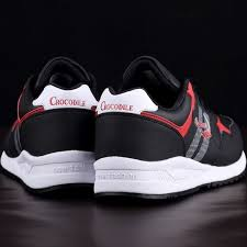 crocodile original men running sneaker shoes male flat athletic sport cushioning jogging for mens leather footwear