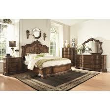 pemberleigh platform customizable bedroom set bedroom set light wood vera
