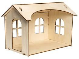 <b>Сборная модель IQ Format</b> Кукольный домик для кукол LO! 1 этаж ...