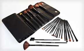 beauté basics 24 piece makeup brush set