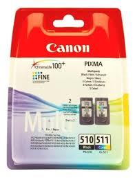 <b>Набор картриджей Canon</b> PG-510/CL-511 Multipack (2970B010 ...