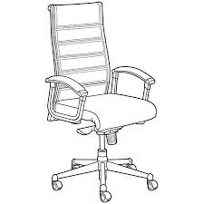 office chair drawing art drawing office