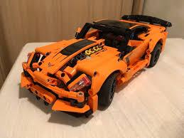 Обзор на <b>Конструктор Lego Technic</b> 42093 <b>Chevrolet</b> Corvette ZR1