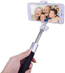 <b>LEEHUR</b> Bluetooth Selfie Stick with Built-in Remote Shutter <b>360</b> ...