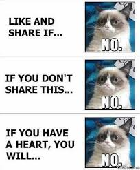 Grumpy Cat vs. Facebook MEME 2015 - Meme Collection via Relatably.com