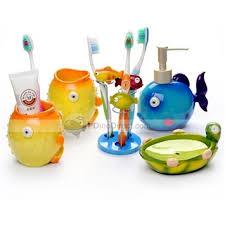 masks bathroom accessories set personalized potty: tropical bathroom accessories gerryt bath accessory set pcs home resin marine animals  big