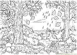 Small Picture Fall Coloring Sheets Pdf Coloring Pages