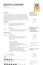 reception resume samples   visualcv resume samples databasereceptionist resume samples