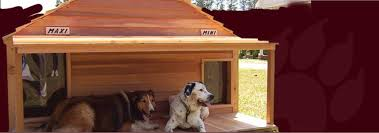 Custom Large Dog Cat Houses  Cedar  Wooden  Insulated Dog House KitsBlythewood Works Blythewood