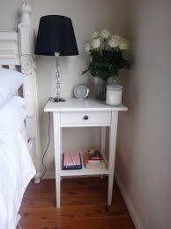 ideas bedside tables pinterest night: ikea hemnes white bedside table getting  of these and will put a small cane