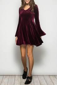 Lap of <b>Luxury</b> Velvet Dress | <b>Burgundy</b> | CASUAL BOHO, HIPPIE ...