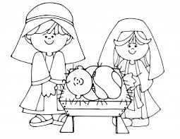 Small Picture Awesome Baby Jesus Manger Coloring Page Images Printable