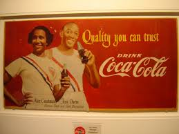 nominal me  jesse owens did ads for coke too but not around white people
