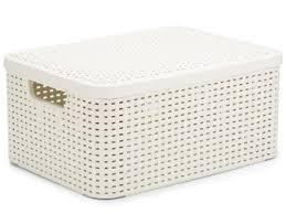 <b>Корзина</b> для белья <b>Rattan</b> Style 60L Cream - Мебель ручной работы