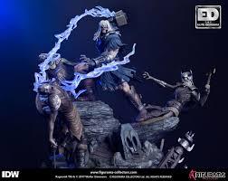 Ragnarök Elite Diorama Statue <b>Thor 46</b> cm | statuecollectibles.cz
