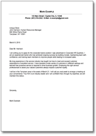 food service manager cover letter  cover letter for food service