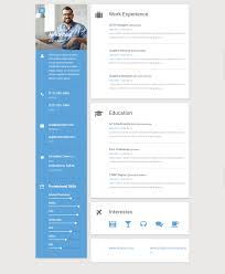 best resume and cv website template responsive miracle material resume and cv website template