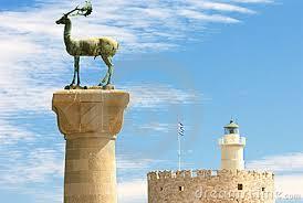 Resultado de imagen de grecia rodas castillo el ciervo