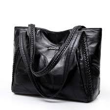 Online Shop <b>Women</b> Tote Bag Genuine <b>Sheepskin</b> Patchwork ...