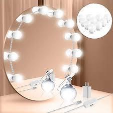 <b>Vanity Mirror Lights</b> Kit, Hollywood Style <b>LED</b> Vanity <b>Lights</b> Makeup ...