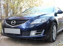 Mazda 6 (07–09) Защита радиатора <b>Optimal</b>, чёрная в г.Москве