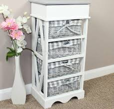 size bathroom wicker storage:  nice wicker basket storage chest  drawer unit  pullout wicker baskets removable basket liners hinged lid top storage box authentic rustic finish elegant shabby chic unit x
