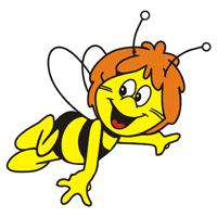 Znalezione obrazy dla zapytania pszczólka gif