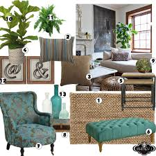 Jute Rug Living Room Living Room Design Board With Natural Elements Neutral Colors