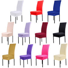 Stretch Dining Room Chair Covers Popular Dining Chair Cover Buy Cheap Dining Chair Cover Lots From