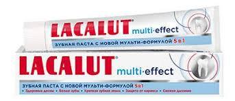 <b>Зубная паста LACALUT мульти эффект</b> 75 мл - отзывы ...