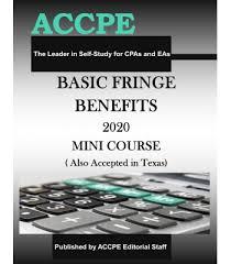 Basic Fringe <b>Benefits 2020 Mini</b> Course