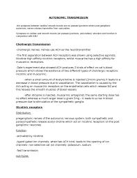 essay on action potential oxbridge notes the united kingdom autonomic transmission