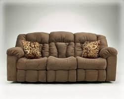 Contemporary Macie <b>Brown</b> Reclining Sofa - Kipotyrre