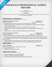 insurance agent resume sample   resume samples across all    insurance professional resume sample