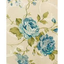 <b>Портьерная штора</b> Жаккард Синие цветы 140*<b>260</b> J201-02 за ...