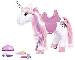 <b>Zapf Creation</b> 828854 <b>Baby Born</b> Animal Friends Unicorn Colourful ...