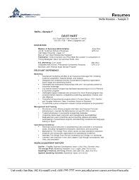 sample skills resume berathen com sample skills resume is one of the best idea for you to make a good resume 10