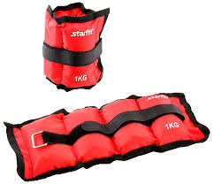 <b>Утяжелители STARFIT WT</b>-<b>401</b> 1кг красный: купить за 450 руб ...