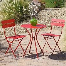 Sol Red <b>3</b>-<b>Piece</b> Patio <b>Bistro Set</b> Review - Dominiczxgafonova