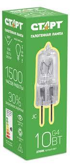 Купить <b>Лампа галогенная</b> «<b>СТАРТ</b>» 10W G4 12V с доставкой по ...