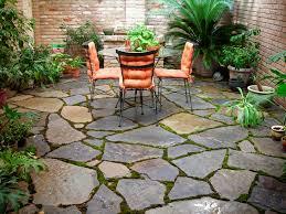 granite patio mowing edge