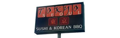Image result for tokyo seoul menu