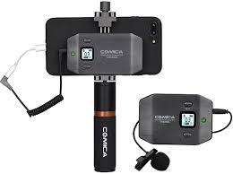 Петличная <b>радиосистема Comica CVM</b>-<b>WS50B</b> для смартфонов ...
