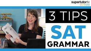tips to improve your sat essay score supertutor tv sat grammar tips crush the writing and language section