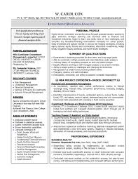 Ba Resume  healthcare business analyst resume  bitwin co  sample