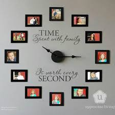 Image result for clock with pictures instead of numbers